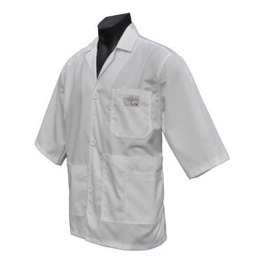 Lab Coat with Lapel(Special Order) $38.95