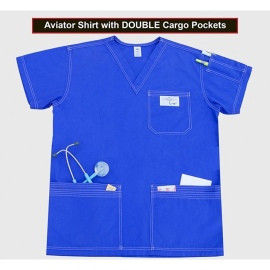 Shirt with Double Cargo Pockets(Special Order) $26.95