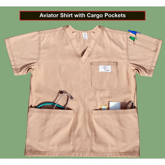 Shirt With Cargo Pockets 2X-SMALL (STOCK)