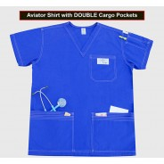 Shirt With Double Cargo Pockets 2X-SMALL (STOCK) $26.95