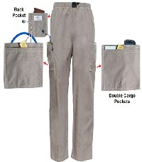 Aviator Pants II - No Ankle Pockets (Simple Cargo Pockets)