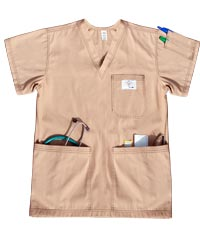 Aviator Shirt with Simple Cargo Pockets